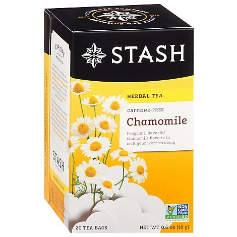 Stash Herbal Tea Caffeine Free Chamomile - 20 Count