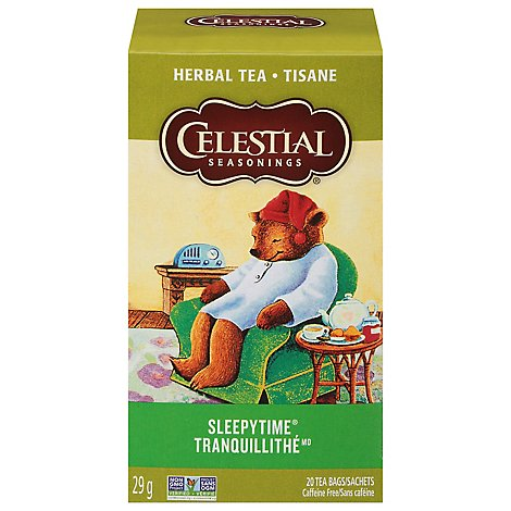Celestial Seasonings Sleepytime Herbal Tea Caffeine Free - 20 Count