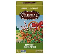 Celestial Seasonings Herbal Tea Bags Caffeine Free Peppermint 20 Count - 1.6 Oz