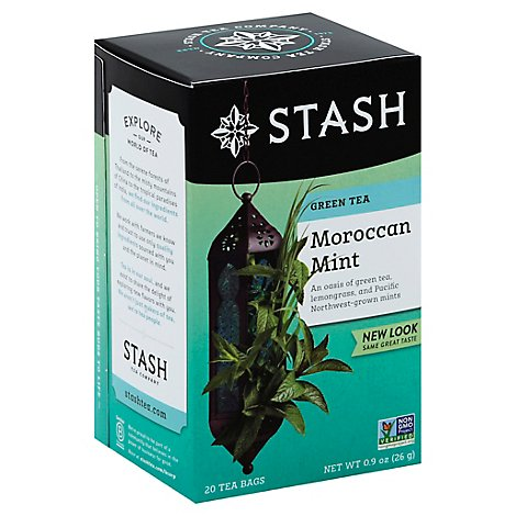 Stash Green Tea Moroccan Mint - 20 Count