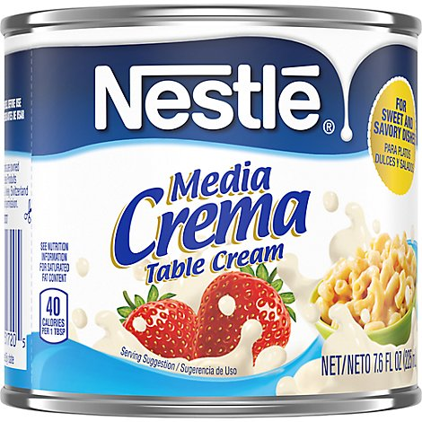 Nestle Media Crema Table Cream - 7.6 Fl. Oz.