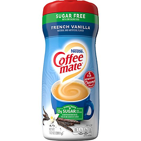 Coffeemate Coffee Creamer French Vanilla Sugar Free - 10.2 Oz