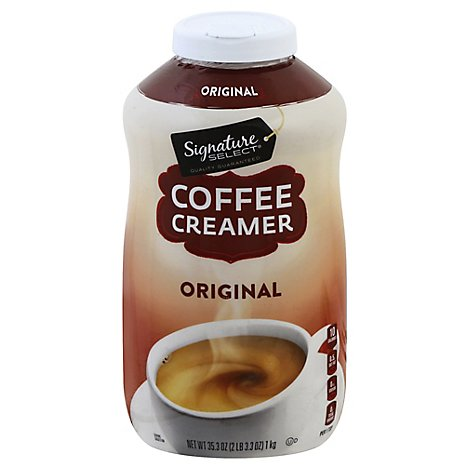 Signature SELECT Coffee Creamer Lactose Free Original - 35.3 Oz
