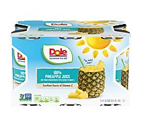 Dole Juice Pineapple - 6-6 Fl. Oz.