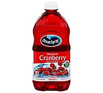 Ocean Spray Juice Cocktail Cranberry - 64 Fl. Oz.