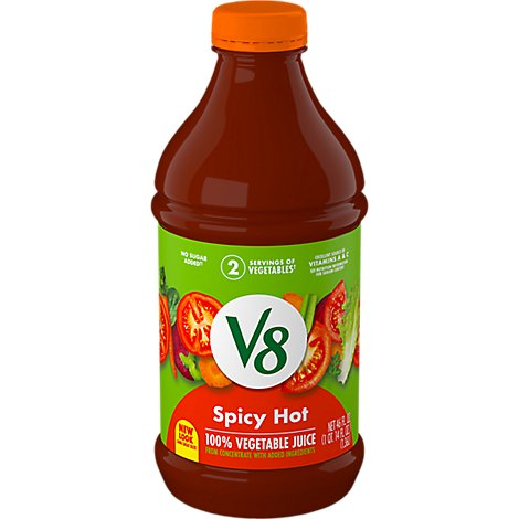 V8 Vegetable Juice Spicy Hot - 46 Fl. Oz.