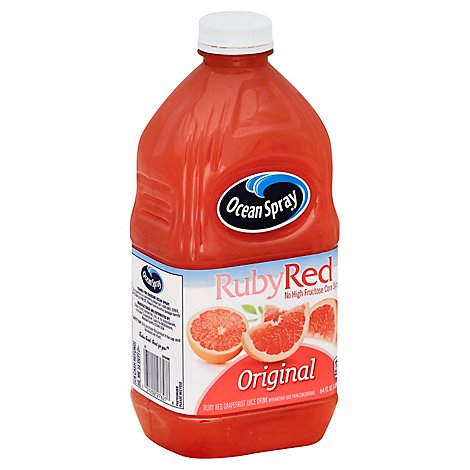 Ocean Spray Juice Drink Grapefruit Ruby Red Original - 64 Fl. Oz.
