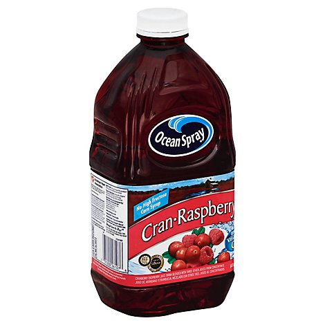 Ocean Spray Juice Cran-Raspberry - 64 Fl. Oz.
