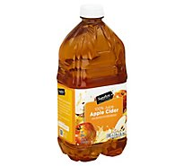 Signature SELECT Juice Apple Cider Bottle - 64 Fl. Oz.