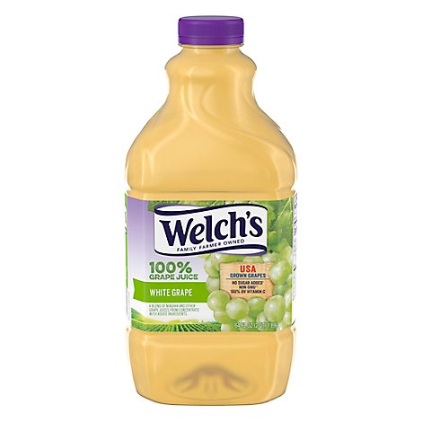 Welchs 100% Juice White Grape - 64 Fl. Oz.