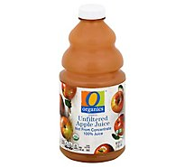 O Organics 100% Juice Organic Unfiltered Apple - 64 Fl. Oz.
