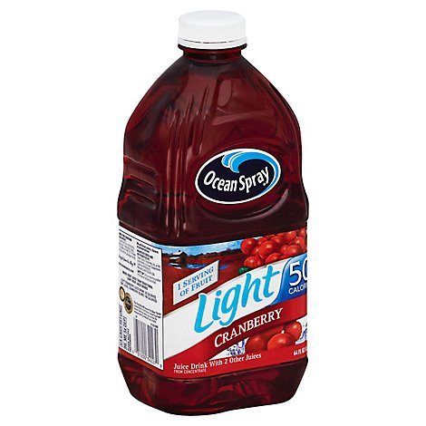 Ocean Spray Light Juice Cranberry - 64 Fl. Oz.