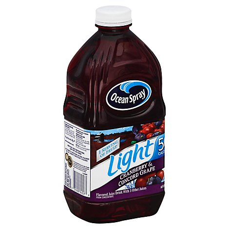 Ocean Spray Light Cranberry Grape Juice - 64 Fl. Oz.