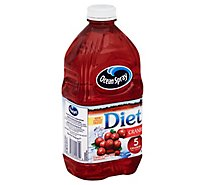 Ocean Spray Diet Juice Cranberry - 64 Fl. Oz.
