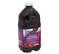 Signature SELECT Juice Cranberry & Concord Grape - 64 Fl. Oz.