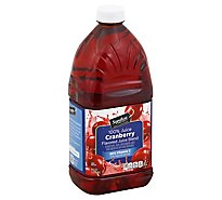 Signature SELECT Juice Cranberry - 64 Fl. Oz.