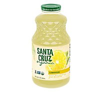 Santa Cruz Organic Juice Lemonade - 32 Fl. Oz.