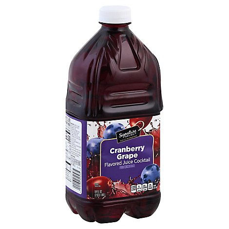 Signature SELECT Juice Cocktail Grape Cranberry - 64 Fl. Oz.
