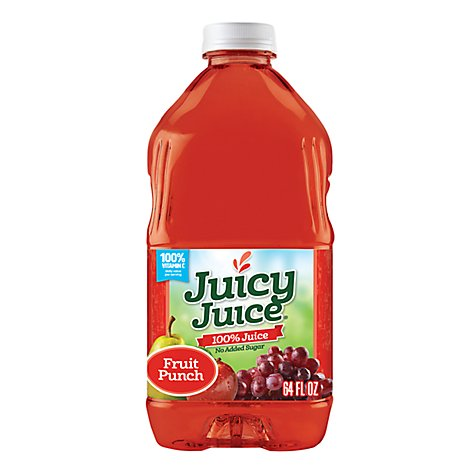 Juicy Juice 100% Juice Fruit Punch - 64 Fl. Oz.