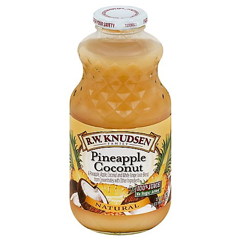 R.W. Knudsen Juice Pineapple Coconut - 32 Fl. Oz.