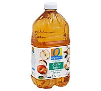 O Organics 100% Juice Organic Apple - 64 Fl. Oz.