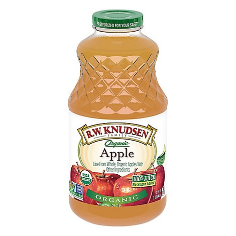 R.W. Knudsen Organic 100% Juice Apple - 32 Fl. Oz.