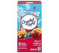 Crystal Light Drink Mix Fruit Punch Can - 2.04 Oz