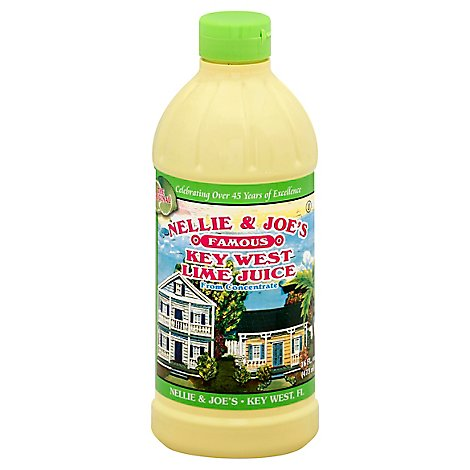 Nellie & Joes Juice Key West Lime - 16 Fl. Oz.