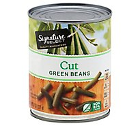 Signature SELECT Beans Green Cut Can - 8.25 Oz