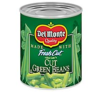 Del Monte Fresh Cut Beans Green Blue Lake Cut with Natural Sea Salt - 8 Oz