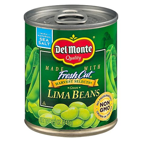 Del Monte Harvest Selects Lima Beans Green - 8.5 Oz