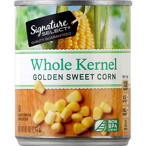Signature SELECT Corn Whole Kernel Golden Sweet Can - 8.5 Oz