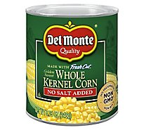Del Monte Fresh Cut Corn Whole Kernel Golden Sweet No Salt Added - 8.75 Oz
