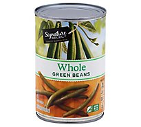 Signature SELECT Beans Green Whole Can - 14.5 Oz