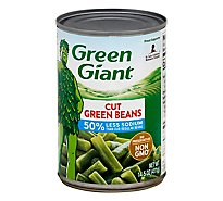 Green Giant Beans Green Cut Low Sodium - 14.5 Oz