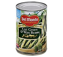 Del Monte Harvest Selects Green & Wax Beans Cut - 14.5 Oz