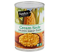 Signature SELECT Corn Golden Sweet Cream Style - 14.75 Oz