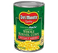 Del Monte Fresh Cut Corn Whole Kernel Golden Sweet No Salt Added - 15.25 Oz