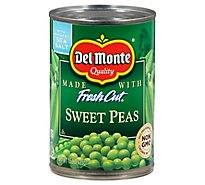 Del Monte Fresh Cut Peas Sweet with Natural Sea Salt - 15 Oz