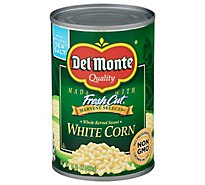 Del Monte Harvest Selects Corn White Whole Kernel Sweet - 15.25 Oz
