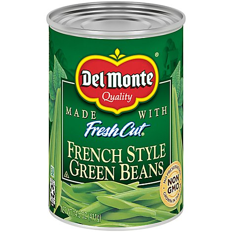 Del Monte Fresh Cut Green Beans Blue Lake French Style - 14.5 Oz