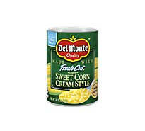 Del Monte Fresh Cut Corn Cream Style Golden Sweet - 14.75 Oz