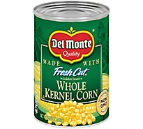 Del Monte Fresh Cut Corn Whole Kernel Golden Sweet with Natural Sea Salt - 15.25 Oz