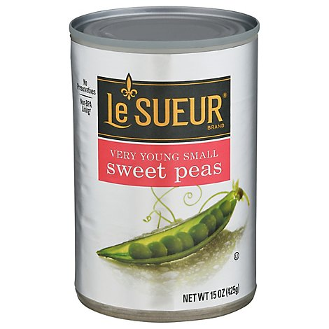 Le Sueur Peas Sweet Very Young Small - 15 Oz