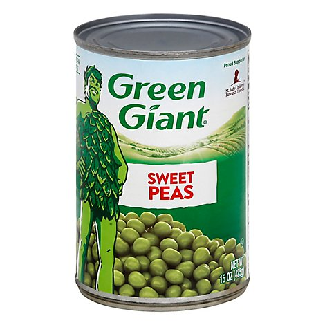 Green Giant Peas Sweet - 15 Oz