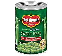 Del Monte Fresh Cut Peas Sweet No Salt Added - 15 Oz