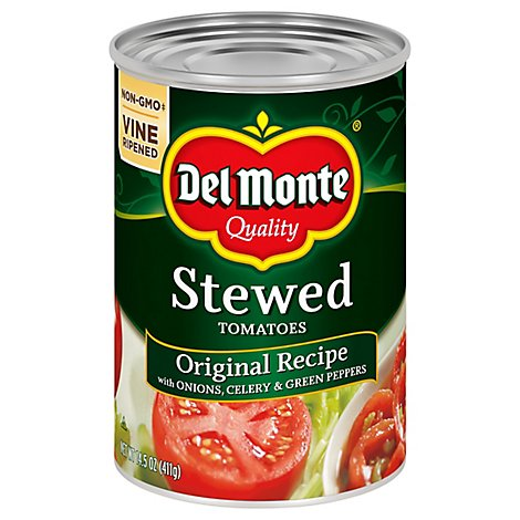 Del Monte Tomatoes Stewed Original Recipe - 14.5 Oz