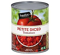 Signature SELECT Tomatoes Diced Petite - 28 Oz