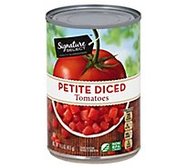 Signature SELECT Tomatoes Diced Petite - 14.5 Oz