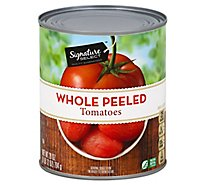 Signature SELECT Tomatoes Peeled Whole - 28 Oz